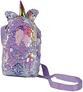 Ziana Multi Products Sequence Unicorn Sling Crossbody Messenger Tote Bags for Kids Girls.
