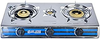Stainless Steel Gas Stove - 3 Flame