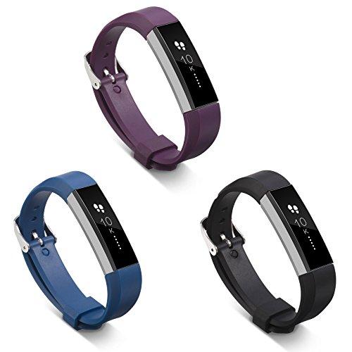 Regolabile Fitbit Alta HR Cinturino - Morbido Sportivo di Ricambio Banda in TPU Silicone del gel di silice cinturino per Fitbit Alta HR