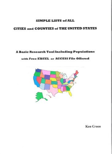 List of All U.S. Counties and Cities