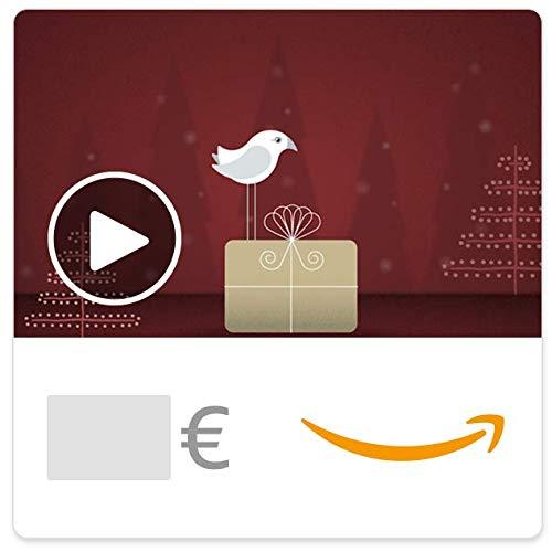 Digitaler Amazon.de Gutschein mit Animation (Weihnachtspäckchen)