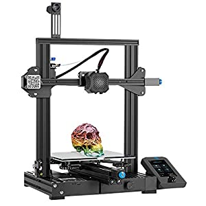 Creality Official Ender 3 V2 3D Printer, 2020 Newest FDM All Metal 3D Printers Kit with Upgraded...