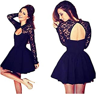 Elegant Lace Pattern Dress For Women Evening Dress Club Dress