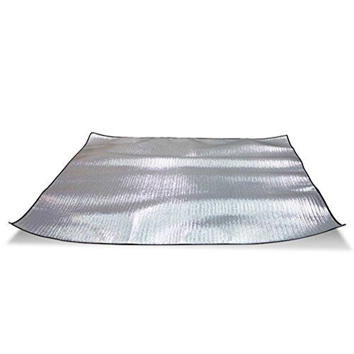 WINOMO Picknick-Matte Wasserdichte Decke Aluminium Outdoor Tote Folie Pad für den Strand Camping auf Gras Sandproof 200 * 150CM