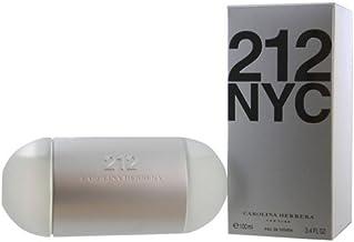 Carolina Herrera 212 NYC Eau de Toilette Spray for Women, 3.4 Fluid Ounce