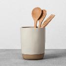 Stoneware Utensil Holder - Cream - Hearth & Hand™ with Magnolia : Target