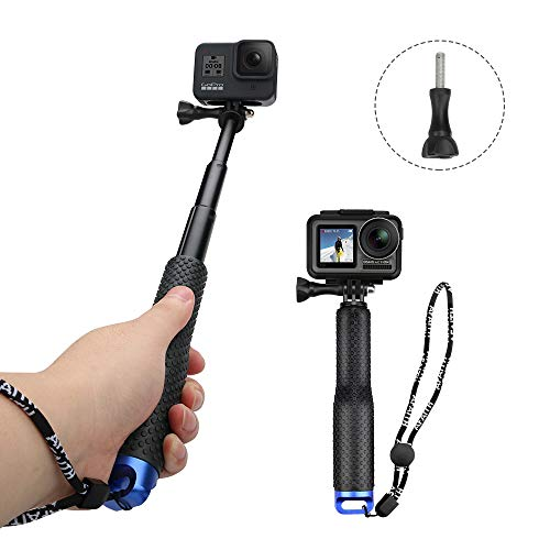 Compact Edition: 25-64 cm Palo Extensible for GoPro Hero 6 4 y HD 3 SANDMARC Pole 3+ Hero 5 Selfie Stick 2