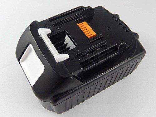 vhbw Akku passend für Makita DHP458, DHP458RF3J, DHP458RMJ, DHP458RTJ, DHP458Z, DHP458ZJ Elektro Werkzeug (4000mAh, 18V, Li-Ion)