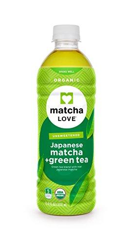 Matcha Love Organic Matcha and Green Tea Traditional 470 ml (Pack of 12) Unsweetened, Zero Calories