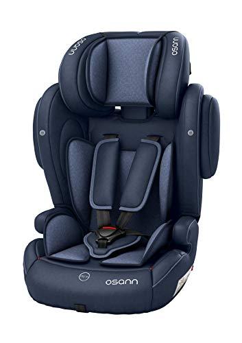 Osann Flux Kindersitz 9-36 kg Isofix (Gruppe 1/2/3) Kinderautositz - Navy Melange