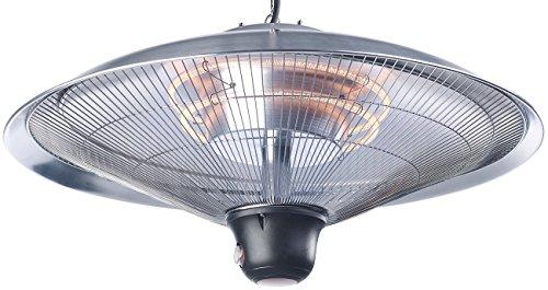 Semptec Deckenheizstrahler: IR-Decken-Heizstrahler mit LED-Licht, Fernbedienung, bis 2.000 W, IP34 (Infrarotheizstrahler) - 8