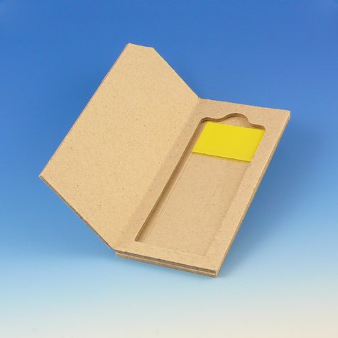GLOBE SCIENTIFIC 513001 Slide Mailer for 1 Slide, Cardboard