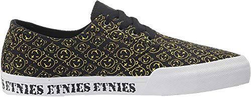 Etnies Unisex-Erwachsene Jameson Vulc Ls Skateboardschuhe, Schwarz (358-Black/Print 358), 3 (36 EU)