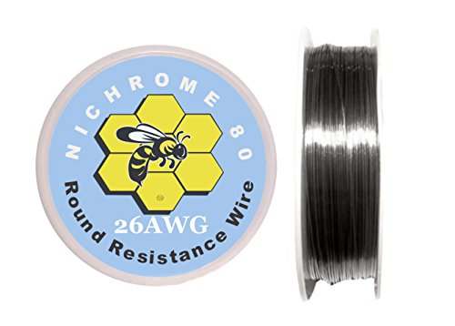 Kbee's 250 ft - 26 Gauge AWG Nichrome 80 Resistance Wire 250' Length