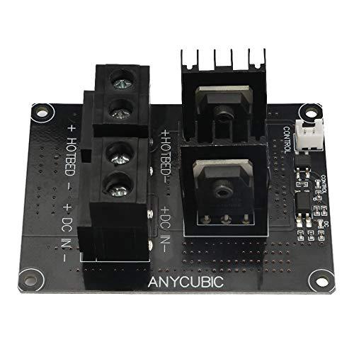 ANYCUBIC DC 24V Heizbett Stromsteuerungs-Modul, MOSFET Modul für das ULTRABASE Heizbett des Chiron 3D Druckers