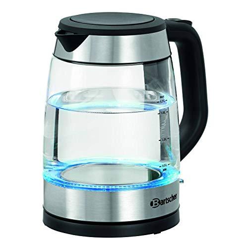 Bartscher Wasserkocher 1,7 Liter 2200 Watt Glas - 200096