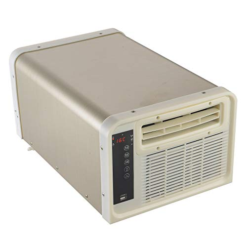 Aire acondicionado portátil 4 en 1, 900 W, con mando a distancia y panel táctil
