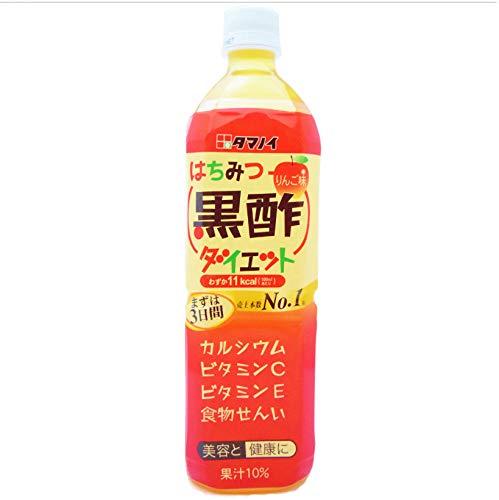 タマノイ はちみつ黒酢ダイエット 900ml×12本