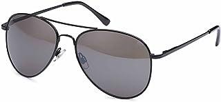 Balinco - Gafas de sol de aviador de los años 70's para hombres y mujeres - Gafas de sol con efecto de espejo