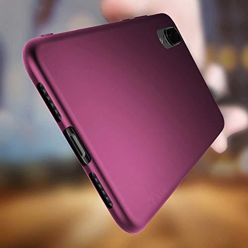 Huawei P20 Hülle, [Guadian Serie] Soft Flex Silikon Premium TPU Echtes Telefongefühl Handyhülle Schutzhülle für Huawei P20 Case Cover [Weinrot] - 2