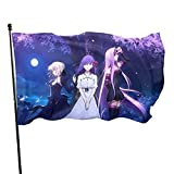 Fate Stay Night Salter Matou Sakura And Rider Anime Flag Decorations Party Cosplay Game Flags For Home House Garden Outdoor Indoor Decor 3x5 Ft