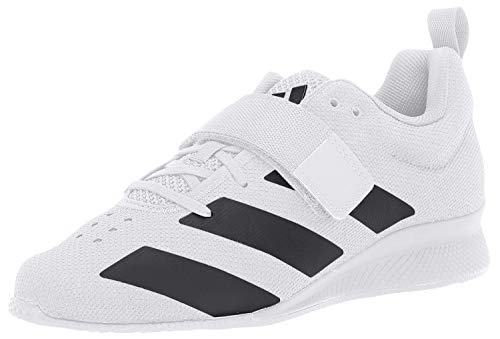 adidas Men's Adipower Weightlifting II Cross Trainer, Black/White, 8 M US