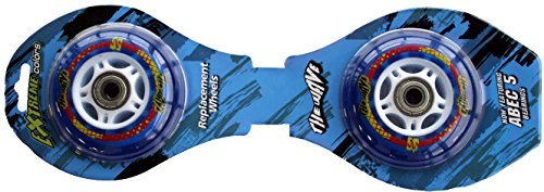 Streetsurfing Ersatzrollen The Wave High Performance Wheels, bright blue, 207