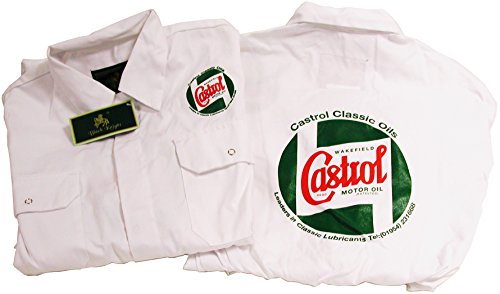 Castrol Mechaniker-Overall STR720-46, ca. 117cm, weiß