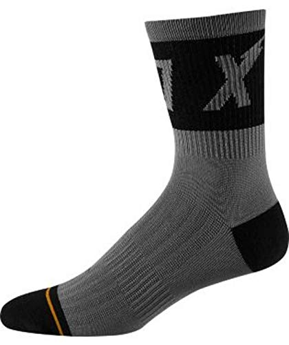 FOX Herren 8' Trail Cushion Socken, Black, S-M