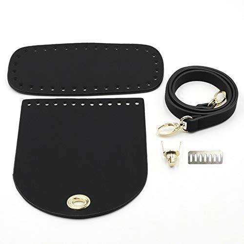 Laimoere Accesorios de repuesto de bolsas, DIY bolso correa de bolso para colgante de bolso adornos, ajustable Crossbody cadena collar Snap ganchos llaveros