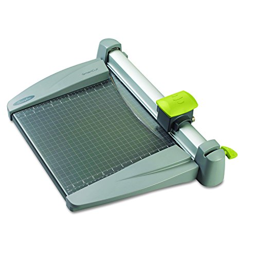 """Swingline Paper Trimmer, Rotary Paper Cutter, 12"""" Cut Length, 30 Sheet Capacity, Commercial, Heavy-Duty, SmartCut (9612)"""