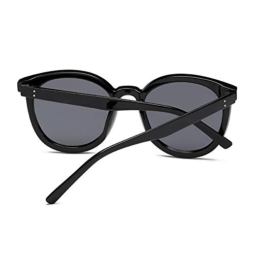 New Round Large Frame Sunglasses Sunglasses Women's Anti Ultraviolet Glasses Face Looks Thin and Fashionable
