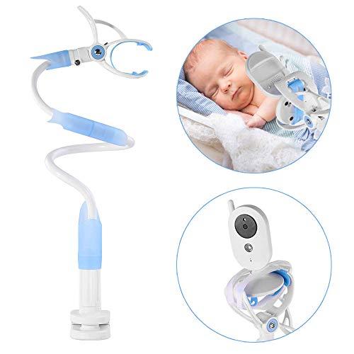 iKALULA Baby Kamera Halterung, Baby Monitor Halter Universal Kamera Halterung verstellbar Flexible Kamera Ständer für Kinderzimmer Babyphone Halterung kompatibel mit den meisten BabyMonitoren (Blau)