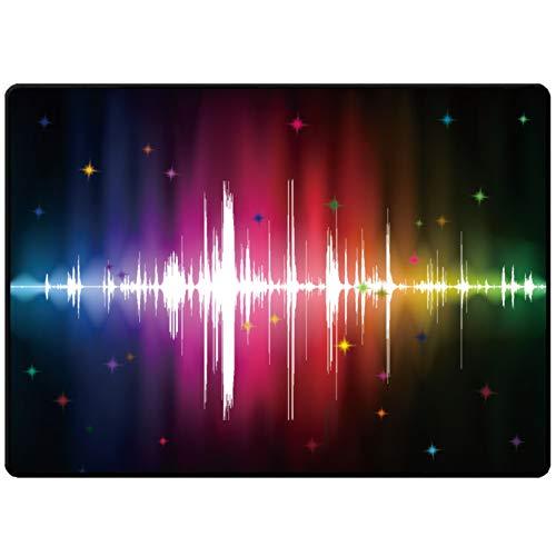 QQDD Trommel Teppich Drum-Teppich rutschfeste Trommelmatte,Drum Teppich Schlagzeug Teppich Schallschutz Schallschutzmatte Schlagzeugteppich Antivibrationsmatten Für Bass Drum Snare Matte (120 * 80CM)