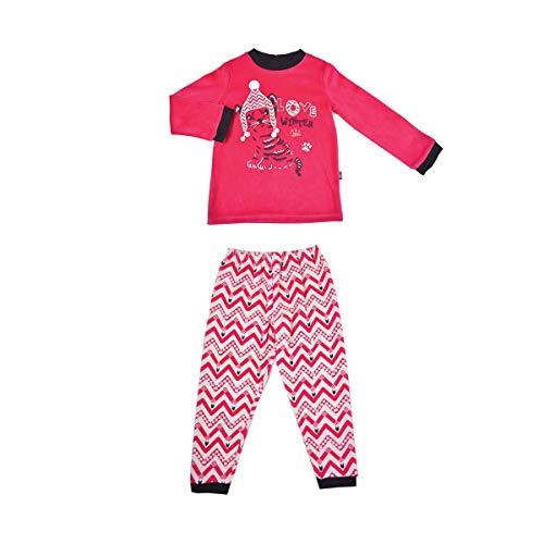 Petit Béguin - Pyjama fille manches longues Love winter - Taille - 6/8 ans