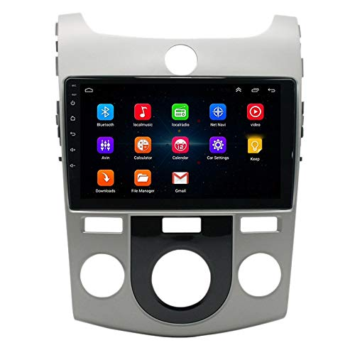 Nrpfell 10 Pulgadas 2 DIN Android 10.0 Car Mp5 Player Radio 2 + 16Gb WiFi NavegacióN GPS para Forte 2010-2018 Manual