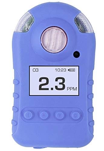 OZONE Meter | Mini Series | USA NIST Calibration | USB Recharge | Sound, Light, Vibration Alarms | 0-20ppm Ozone Detector |