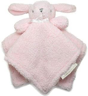 Blankets & Beyond Best Friends Nunus Pink Fuzzy Bunny Security Blanket