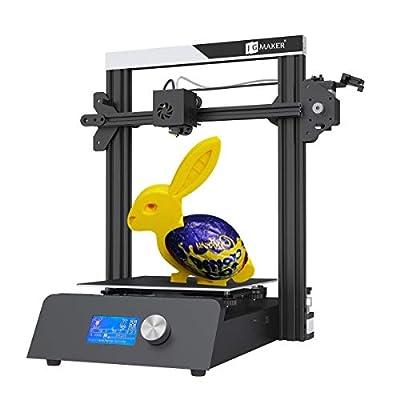 JGMAKER Magic Upgraded 3D Printer DIY Kits Fast Assemble Open Source with Metal Base Resume Printing Filament Sensor Function 220x220x250mm