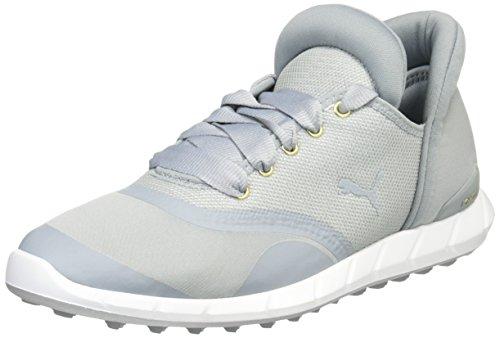 PUMA Ignite Statement Golf Damen Golfschuhe 189894 03 grau, Schuhgröße:42.5 EU