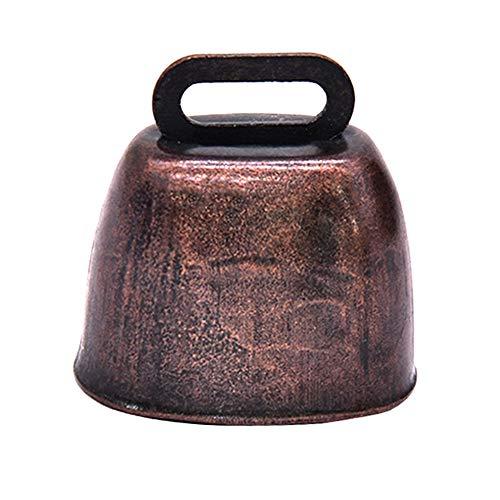 LQKYWNA Campana de Bronce Tamaño pequeño Muy Ruidoso Pasto
