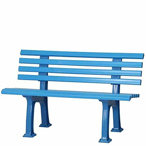 BLOME-TILMANN Til. Ibiza Banque, Plastique, Bleu Clair, 54 x 120 x 74 cm, 50926