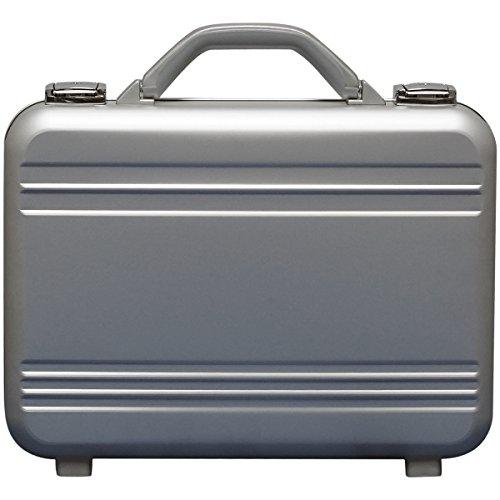 アルミ製 アタッシュケース Sサイズ A4サイズ対応 シルバー 軽量モデル ノートパソコン収納可能 ビジネスバッグ ブリーフケース PCケース パソコンバッグ