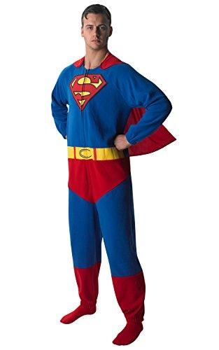 Rubie\'s 3880332 - Superman Onesie - Adult, Verkleiden und Kostüme, S