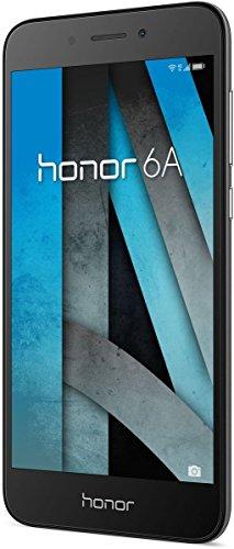 Honor 6A Smartphone (12,70 cm (5 Zoll) HD Display, 16 GB Speicher, Android 7.0) grau