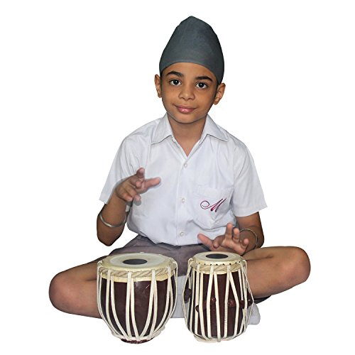 """India Meets India Handicraft 7"""" Tabla Drum Set Upto 8 Years Kids, Student Tabla Set, Best Gifting Made by Awarded Indian Artisan"""
