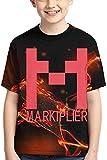 Rogerds Youth Teen Boy's Girl's Shirts Markiplier Tee T Shirt Short Sleeve Tshirt Fan Clothes for Teens Boys Girls
