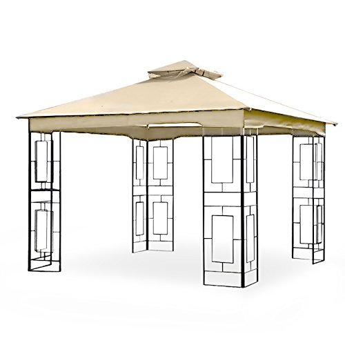 Garden Winds Replacement Canopy for The Garden Treasures Geo Gazebo - Standard 350 - Beige