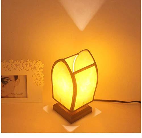 Nachtlampje bureaulamp van hout creatief kinderkamer lichtbalk sfeerlicht bar cafe hotel decoratieve lampen E27 knop schakelaar 24 * 12 cm