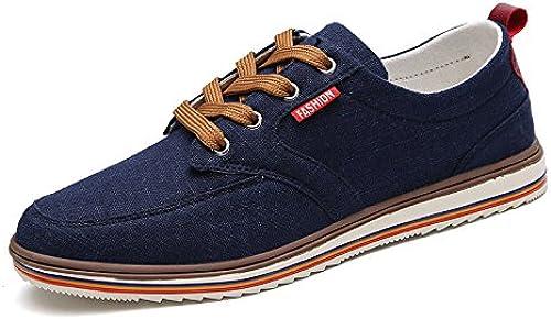 SKY-Maria Homme été Chaussures Décontractées Lumière Chaussures De Toile Chaussures Plates Confortable Grande Taille 38-48